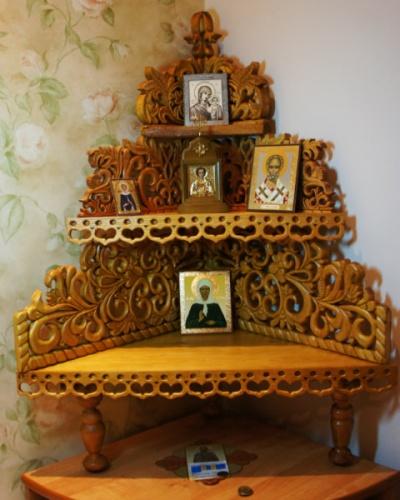 Иконостасы для дома своими руками фото